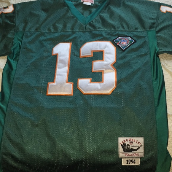 the best attitude 83754 ad094 Miami Dolphins Throwback Jersey